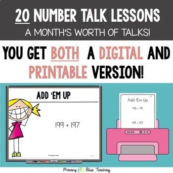 Fifth Grade Number Talks ~ Unit 2