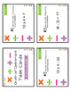 Fifth Grade Order of Operations Task Cards