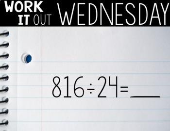 Fifth Grade PAPERLESS Number Talks- A YEARLONG BUNDLE