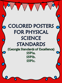 S5P1a. b. c. 5th Grade Georgia Physical Science Color Posters
