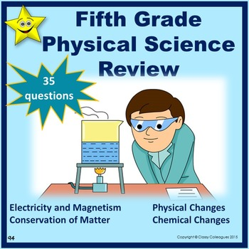 Physical Science Review, Fifth Grade