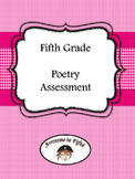 Fifth Grade Poetry Assessment