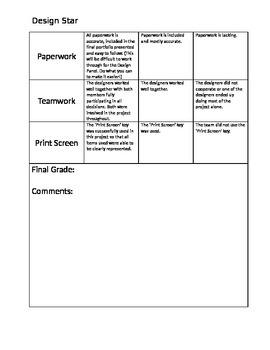 Fifth Grade Problem Solving Design Star