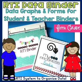 Fifth Grade RTI Data Binder: Graphs and Pages for Teacher and Student Binders