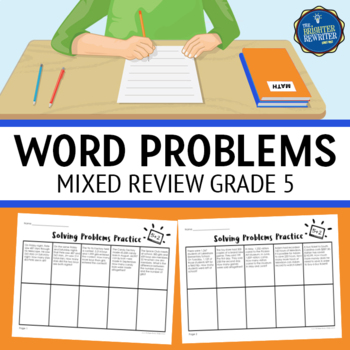 Word Problems 5th Grade Worksheets