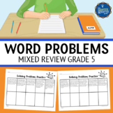 Mixed Word Problems 5th Grade