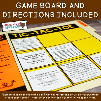 Fifth Grade Rational Numbers Math Test Prep Review Game   5th Grade TEKS