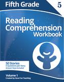 Fifth Grade Reading Comprehension Workbook - Volume 1 (50 Stories)