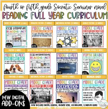 Fifth Grade Reading Unit Bundle Fifth Grade Reading Curriculum