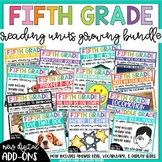 Fifth Grade Reading Unit Bundle *Growing Bundle*
