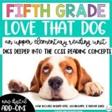 Fifth Grade Reading Unit - Love That Dog