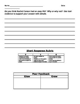 Fifth Grade ReadyGen Unit 1 Module B:Rachel Carson Danielson Aligned