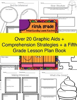 Fifth Grade SUPER Bundle! ~ Lesson Plans, ELA Activities, Graphic Aids & More!