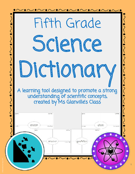 Fifth Grade Science Dictionary