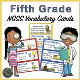Fifth  Grade Science:  NGSS Vocabulary for Your Word Wall