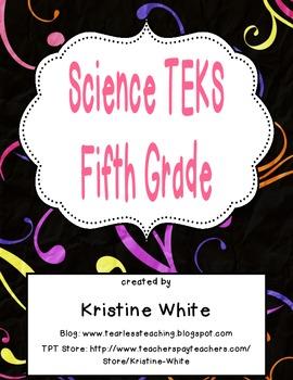 Fifth Grade Science TEKS