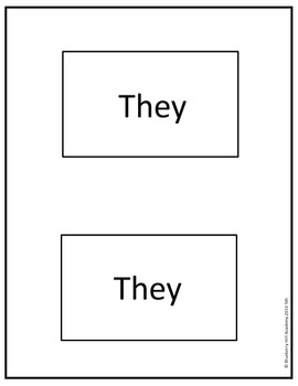 Sight Words for Sentence Building (Fifth)