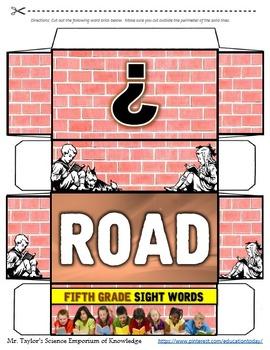 Fifth Grade Sight Words