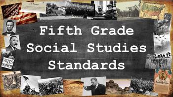 Fifth Grade Social Studies Standards