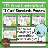 "Fifth Grade Standards Bundle ""I Can"" Posters"