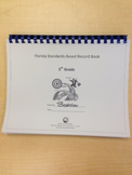 Fifth Grade Standards-Based Record Book- FLORIDA STANDARDS