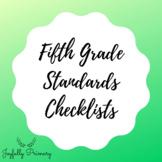 Fifth Grade Standards Checklist