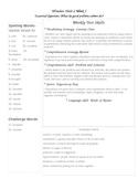 Fifth Grade Study Guide Unit 2 Week 1 McGraw Hill Wonders