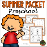 Preschool Summer Packet (Pre K Summer Review Homework)