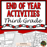 3rd Grade End of Year Activities (3rd Grade Last Week of School Activities)