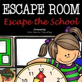 Math Escape Room (Math Activity for Review and Classroom Community)
