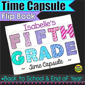 Fifth Grade Time Capsule Flip Book