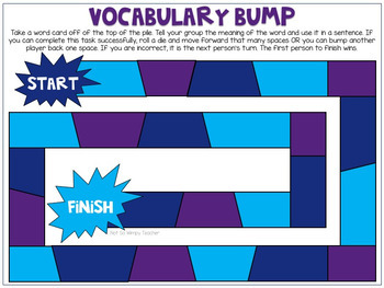 Fifth Grade Vocabulary Builders Unit 4