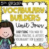 Fifth Grade Vocabulary Builders Unit 4