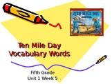 5th Grade Vocabulary Pearson Reading Street Unit 1 Week 5