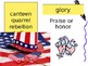 5th Grade Vocab Pearson Reading Street Unit 2 Week 2 PP - Hold the Flag High