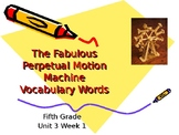 5th Grade Vocab Pearson Reading Street Unit 3 Week 1 PP -
