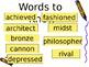5th Grade Vocabulary Pearson Reading Street Unit 3 Week 2 PP - Leonardo's Horse