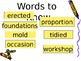 5th Grade Vocabulary Pearson Reading Street Unit 3 Week 3 PP - The Dinosaurs
