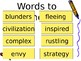 5th Grade Vocabulary Pearson Reading Street Unit 4 Week 1 PP - Weslandia