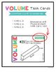 Fifth Grade Volume Task Cards