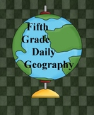 Fifth Grade Weekly Geography