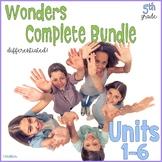 Fifth Grade Wonders Complete Bundle Units 1-6