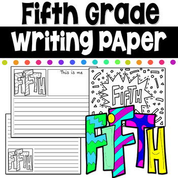 Fifth Grade Writing Coloring Pages First Day of School