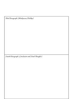 Fifth Grade Writing Sample