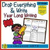 Fifth  Grade Year Long D.E.W. (Drop Everything & Write), Rubrics & Data Charts