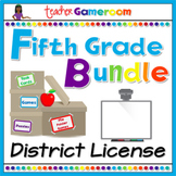 Fifth Grade Powerpoint Game Bundle - District License
