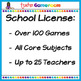 Fifth Grade Yearly School License