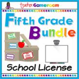 Fifth Grade Powerpoint Game Bundle - School License
