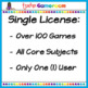 Fifth Grade Powerpoint Game Bundle - Single License