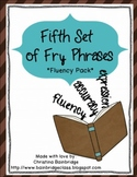Fifth Hundred Fry Phrases Fluency Games and Intervention Set